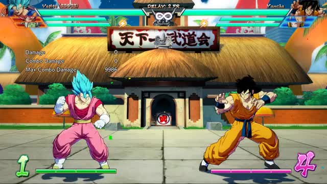 Watch Vegito Basic Combo GIF by @xelgod on Gfycat. Discover more Dragon Ball FighterZ, dbfz GIFs on Gfycat