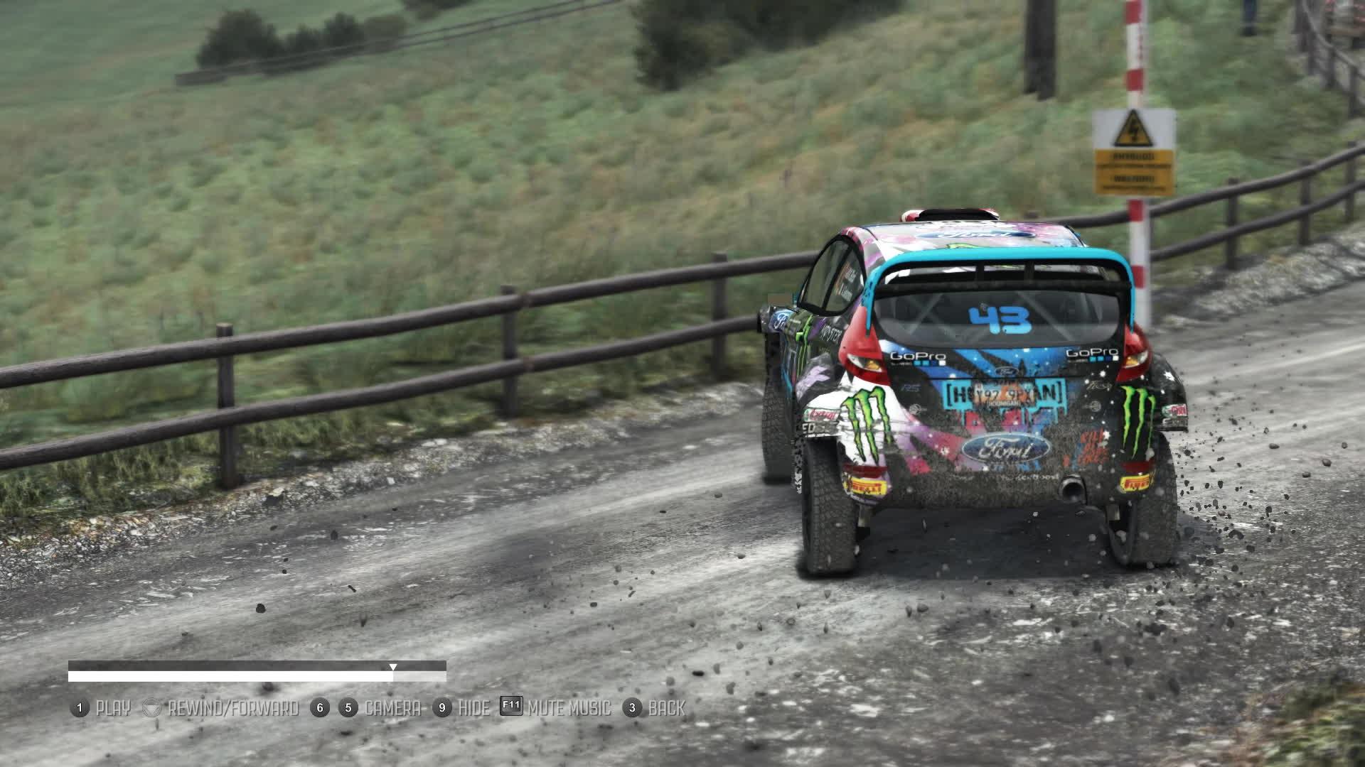 dirt rally, dirtgame, rally, I enjoy slow-mo GIFs