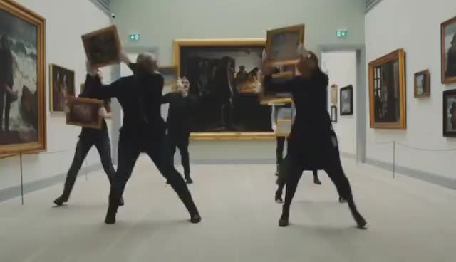 Watch and share Art Museums Of Skagen | Museum Dance Off 2017 GIFs on Gfycat