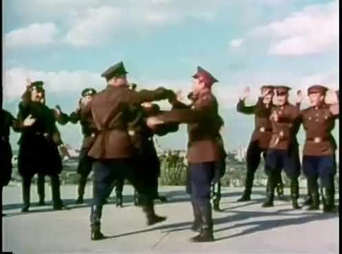 "Watch and share ""Soldier's Dance"" - The Alexandrov Ensemble (1965) GIFs on Gfycat"