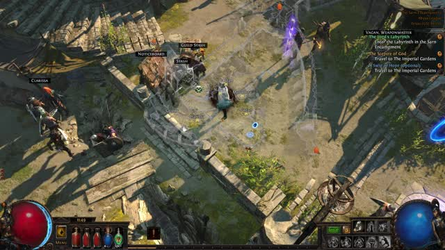 Watch and share PathOfExile X64Steam 2017-12-29 11-49-38-64 GIFs on Gfycat