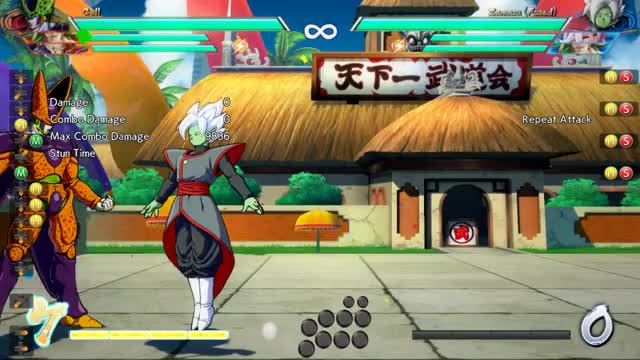 Watch and share DBFZ: Cell 2H Confirm 1 Bar 1 Assist SKD GIFs by snuffychris605 on Gfycat