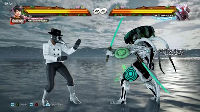 Watch 94 damage yoshimitsu combo GIF by @gfybox on Gfycat. Discover more related GIFs on Gfycat