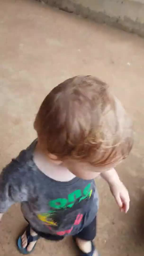 Watch and share Australian Toddler Sees Rain For The First Time GIFs on Gfycat