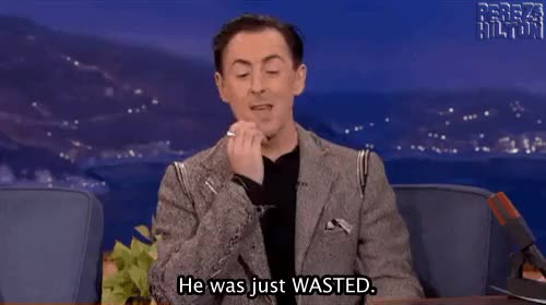 Watch and share Alan Cumming GIFs and Wasted GIFs on Gfycat