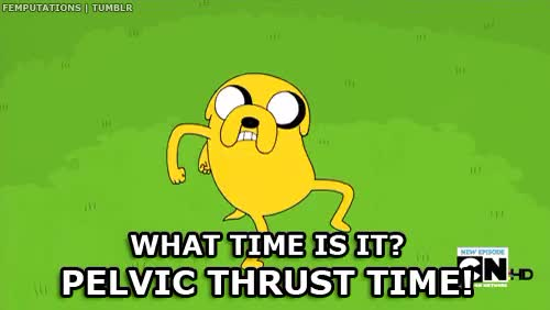 Watch adventuretime pelvic thrust time GIF on Gfycat. Discover more related GIFs on Gfycat