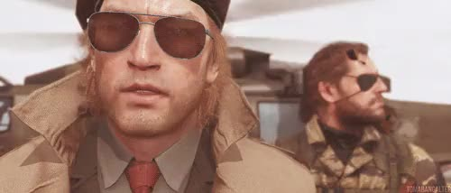 Latest Kazuhira Miller Gifs Gfycat You forced your own son into the cockpit of a metal gear. latest kazuhira miller gifs gfycat