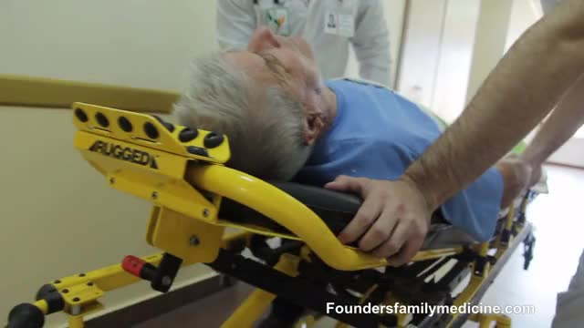 Emergency Patient Rush to Hospital - Medical GIF by Founders Family