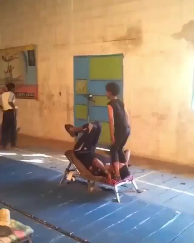 Watch and share Incredible Acrobatic Performance GIFs by tothetenthpower on Gfycat
