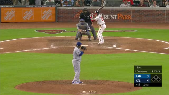 Watch and share Los Angeles Dodgers GIFs and Atlanta Braves GIFs by richardopl on Gfycat