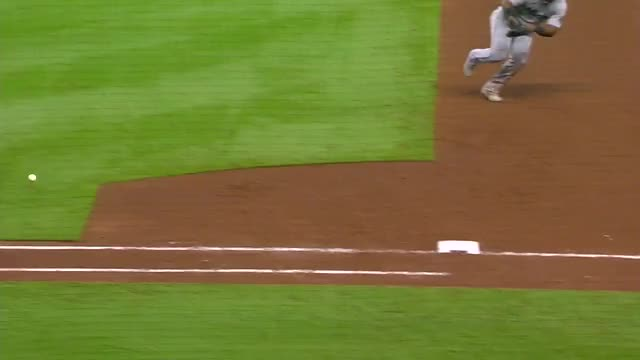 Watch and share Jesus Aguilar Throws Glove At Ball. GIFs by handlit33 on Gfycat