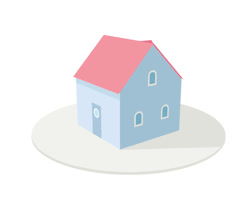 gif Illustration animation house monster flat Vector isometric GIFs