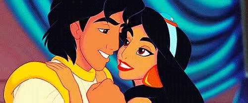 gif love disney jasmine aladdin true love