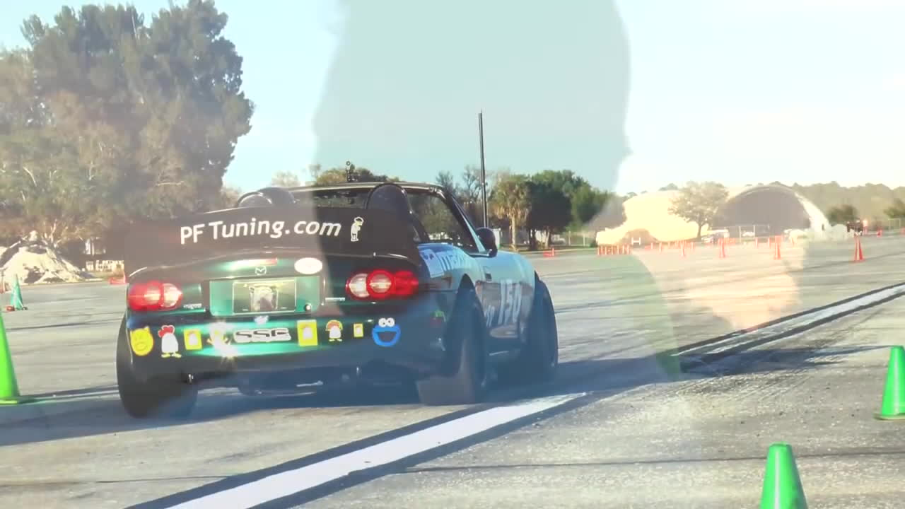 autocross, miata, racing, One Awesome Autocross Miata GIFs
