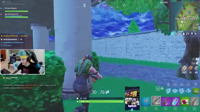 Watch and share Ninja Playing Fortnite - Twitch Clips GIFs by danswell on Gfycat