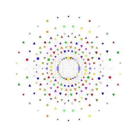 Watch Garrett Lisi's E8-based TOE representation GIF on Gfycat. Discover more E8, Everything, GUT, Garrett, Lisi, TOE, Theory, of GIFs on Gfycat