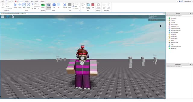 Watch and share Super Emote Maker Lolololol (MY PLACE ONLY) - Roblox Studio 8 5 2019 7 03 15 PM GIFs on Gfycat