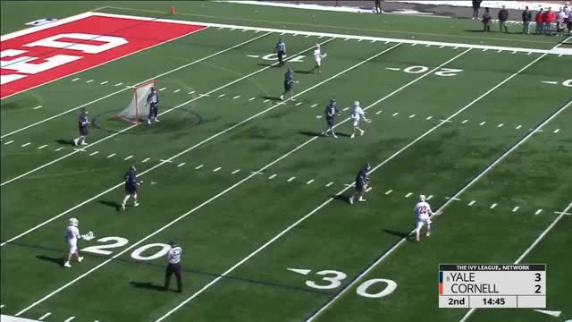 Watch and share Cornell Midfield Alley Dodges GIFs by Lacrosse Film Room on Gfycat