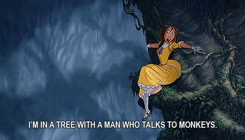 Watch Tarzan GIF on Gfycat. Discover more disney, jane, tantor, tarzan, terk GIFs on Gfycat