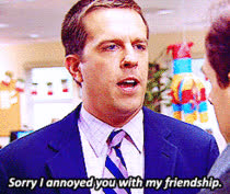ed helms, MRW I text my friends to hang out and no one replies GIFs