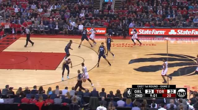 Watch and share Toronto Raptors GIFs and Orlando Magic GIFs by prejuce on Gfycat