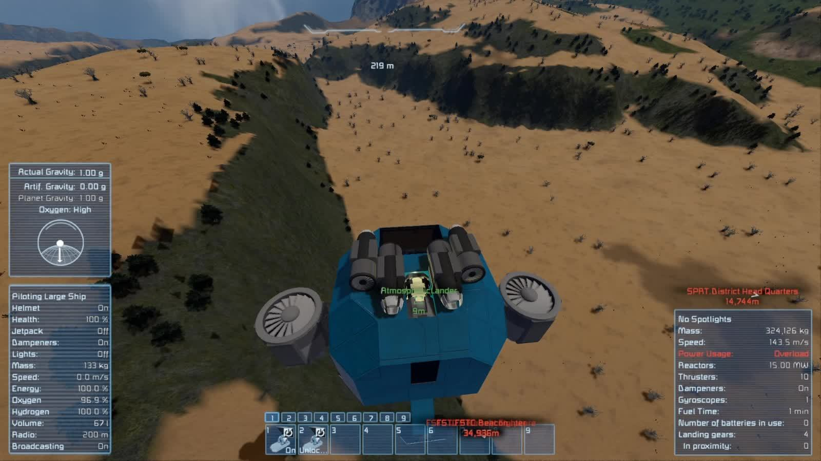 mlplounge, spaceengineers, Well, that's one way to land. GIFs