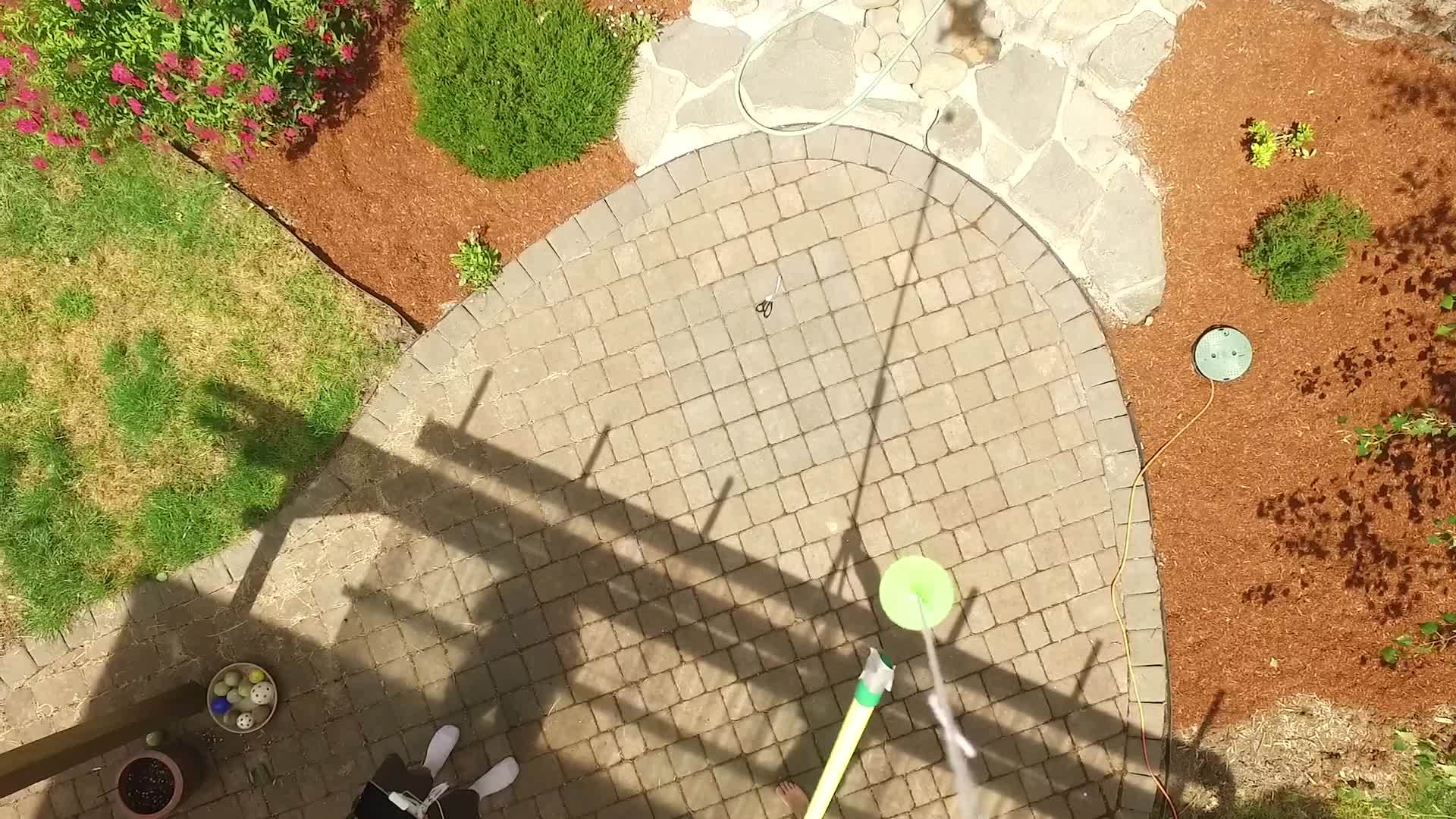 djiphantom, Popping a balloon attached to a drone GIFs