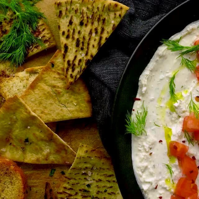 Watch and share Garlicky Feta Dip GIFs by Morgan Eisenberg on Gfycat