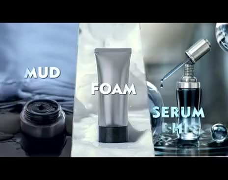 NIVEA MEN FACE: Pro-White Ice Mud Serum Foam Video HD