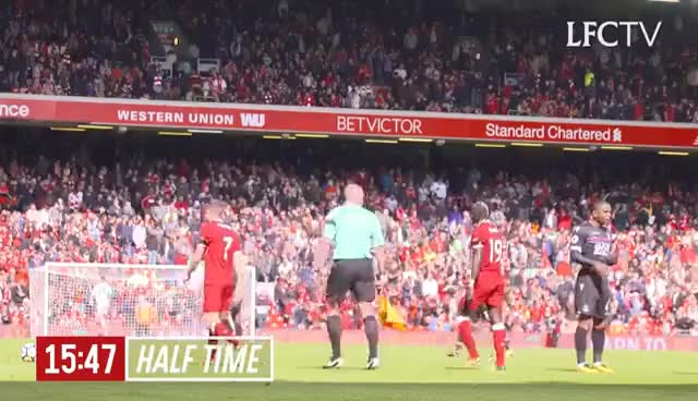 Watch Inside Anfield: Liverpool 1-0 Crystal Palace | Tunnel Cam GIF on Gfycat. Discover more related GIFs on Gfycat