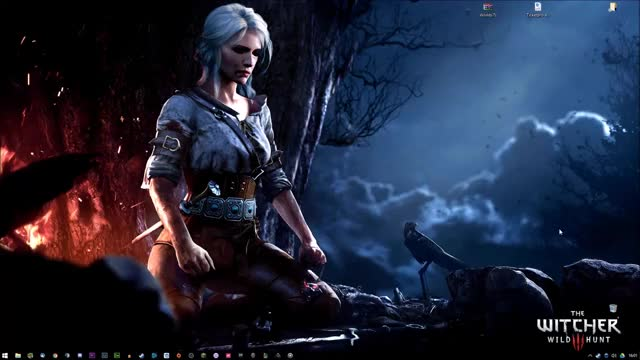 Watch and share Ciri Animated Wallpaper GIFs by xnuke on Gfycat