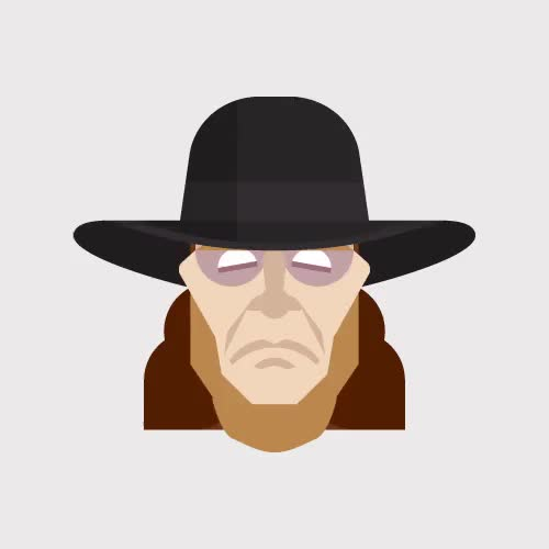 Watch Found this neat gif showing the changes in appearance of The Undertaker over the years (reddit) GIF on Gfycat. Discover more SquaredCircle, squaredcircle GIFs on Gfycat