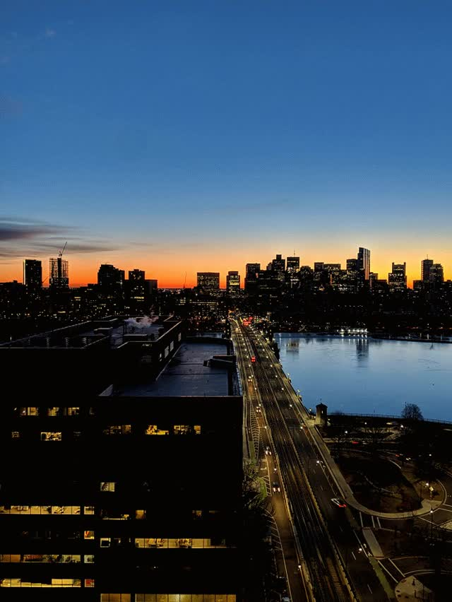 Watch and share Boston From Across The Bridge GIFs on Gfycat