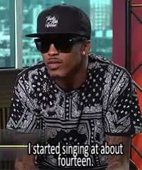 Watch and share August Alsina GIFs and Vibe Magazine GIFs on Gfycat