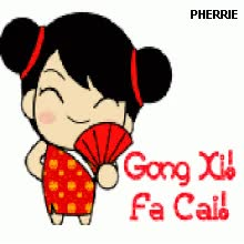 Watch and share DP ANIMASI BBM GIF: DP BBM ANIMASI BERGERAK GONG XI FA CAI Animasi Bergerak animated stickers on Gfycat