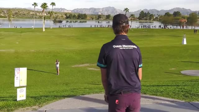 Watch Round Two 2019 Memorial Championship - EAGLE McMahon HOLE 17 DRIVE GIF by Benn Wineka UWDG (@bennwineka) on Gfycat. Discover more Sports, dgpt, disc golf, disc golf pro tour GIFs on Gfycat