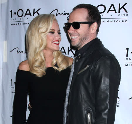 jenny mccarthy, Jenny McCarthy Donnie Wahlberg out in Las Vegas 1oak GIFs