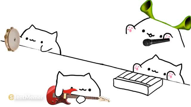 Watch and share Bongo Cat Is Love, Bongo Cat Is Life GIFs on Gfycat