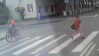 Watch and share Womans Pants Fall Down In  Street Crossing GIFs on Gfycat