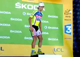 Watch Football + hockey GIF on Gfycat. Discover more Slovakia, my gif, peter sagan, tinkoff saxo, tour de france GIFs on Gfycat