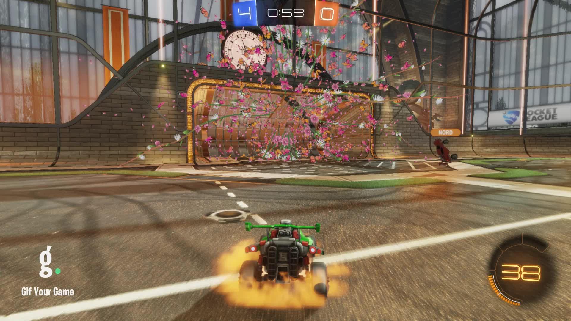 Gif Your Game, GifYourGame, Rocket League, RocketLeague, datboi, Goal 5: datboi GIFs