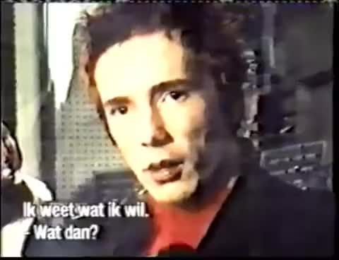 Watch and share Johnny Rotten GIFs and Sex Pistols GIFs on Gfycat