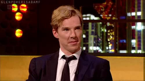 Watch and share Benedict Cumberbatch GIFs on Gfycat