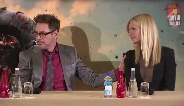 Watch Robert and Gwyneth GIF on Gfycat. Discover more Gwyneth Paltrow, RDJ GIFs on Gfycat