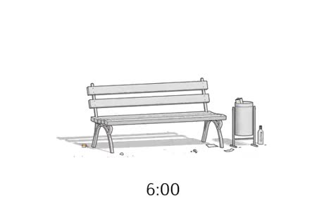Once upon a time there was a Bench...