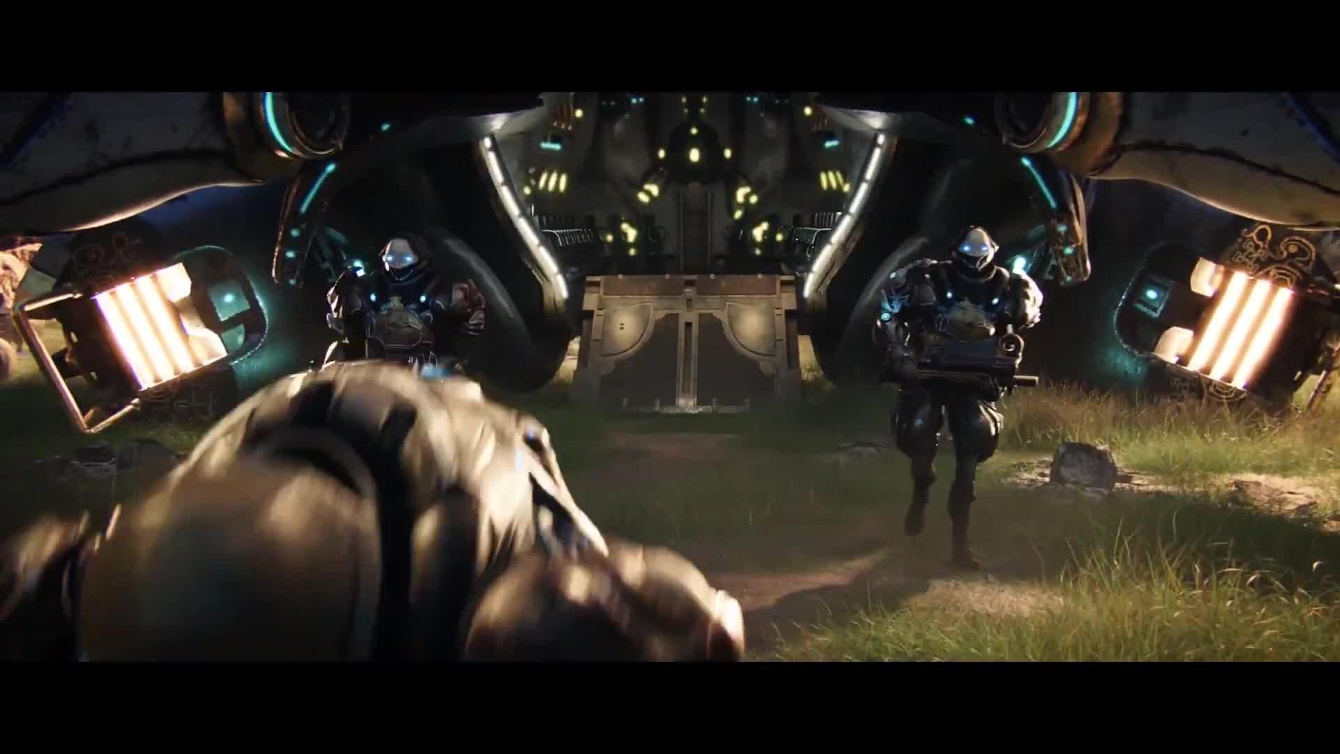baro ki'teer, dan trachtenberg, games, ign, tenno, tennocon, tennocon 2019, void trader, warframe, warframe chroma, warframe cinematic, warframe gameplay, warframe intro, warframe intro cinematic, warframe movie, warframe tennocon, warframe tennocon 2019, warframe update, wickedfun, Warframe - Official Intro Cinematic GIFs