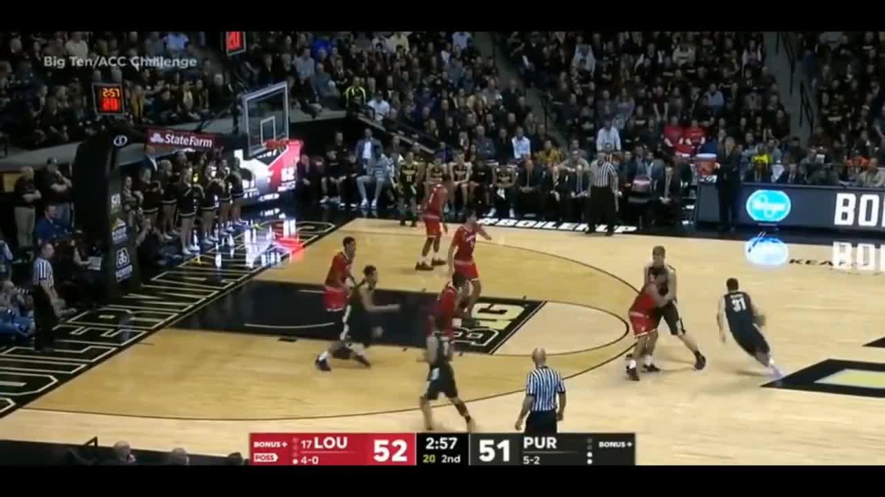 Louisville vs Purdue Full Game Nov 28.2017   NCAA College Basketball GIFs
