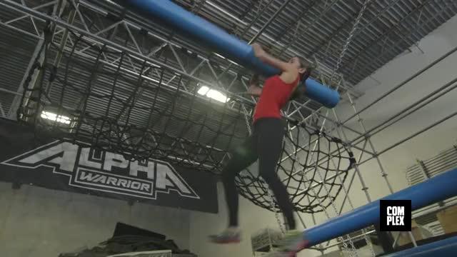 Team Ninja Warrior: The Sean Evans vs. Kacy Catanzaro Challenge On Complex