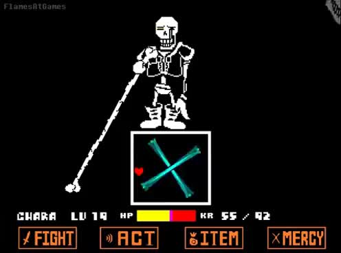 Watch and share DISBELIEF (Papyrus's Genocide Route) [Undertale] GIFs on Gfycat