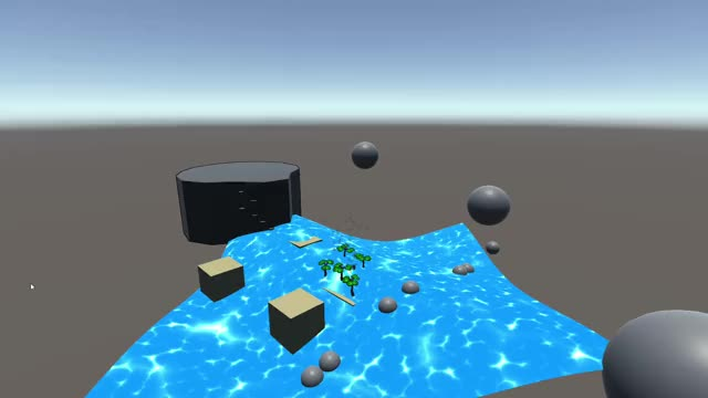 Watch and share Unity Infinitely Scaleable Procedurally Generated Ocean + Buoyancy Height Detection GIFs by Hammy on Gfycat